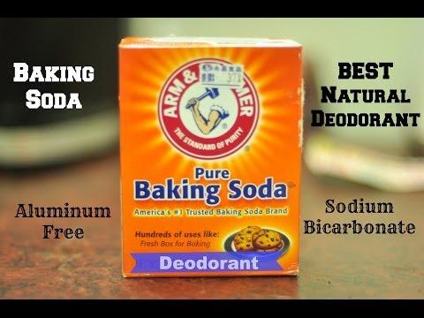 BAKING SODA- BEST NATURAL DEODORANT
