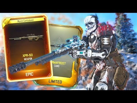 NEW XPR-50 Sniper & Permafrost Camo! (Black Ops 3 Update)