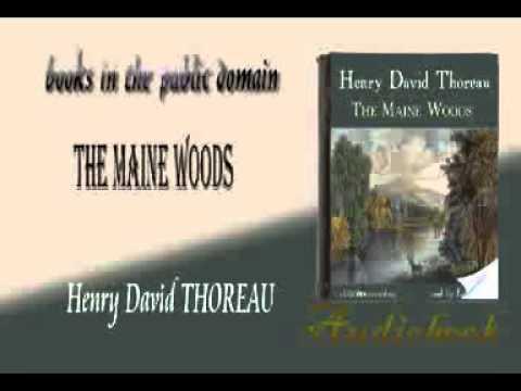 The Maine Woods audiobook Henry David THOREAU