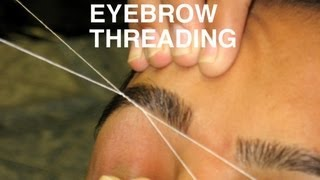 DIY: Perfect Eyebrow Threading at Home | Simple & Easy Tutorial |SuperPrincessjo