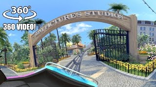 AWESOME Motiongate Dubai Theme Park 360 Degree Roller Coaster Tour!