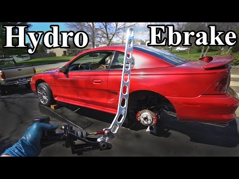 How to Install a Hydro Ebrake (Hydraulic E brake)