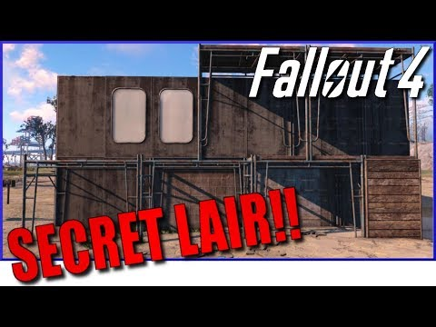 FALLOUT 4 - Building the Most High-Tech Settlement Yet!