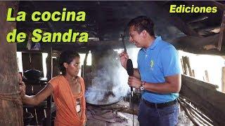 Sandra #3 La cocina de Sandra tremenda humazón fin - Ediciones Mendoza