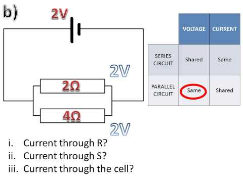 PROBLEM SOLVED - Current / Voltage in parallel circuits