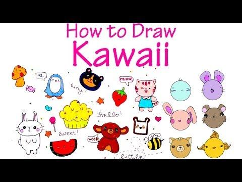 How to Draw Cute (KAWAII) Characters
