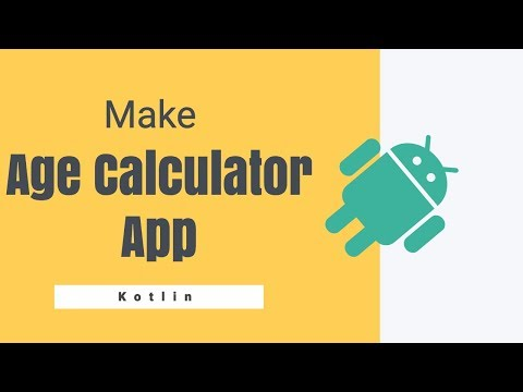 Build Age Calculator App | Kotlin | Android | Hindi
