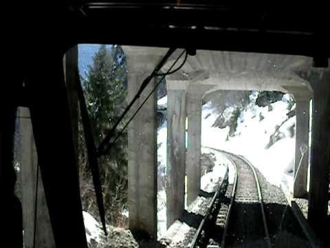 Train to Chamonix