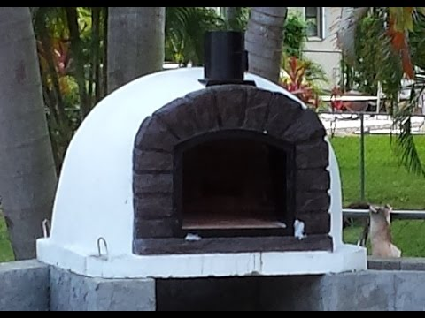 Delivery and installation of my Portuguese Brick Oven