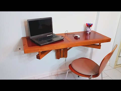 How to Make a folding desk