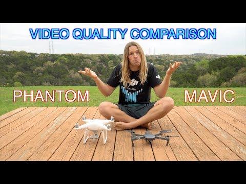 DJI Phantom4 and Mavic Pro Video Quality Comparison!