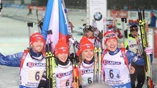 Mixed Staffel WM Kontiolahti / 05. März 2015