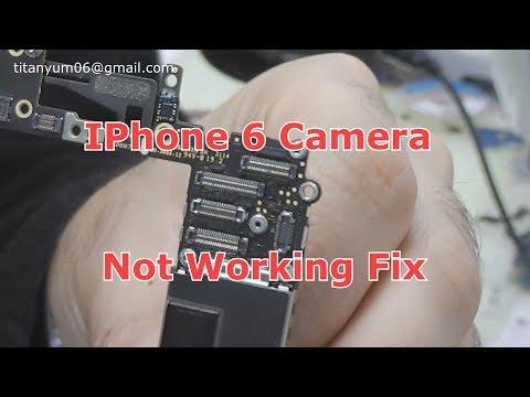 iphone 6 Camera Not Working Fix