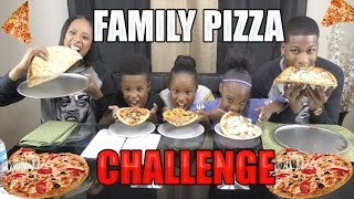 Pizza Challenge Family Edition🍕