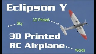 Let's build the Eclipson-Y 3D printed plane | HobbyView