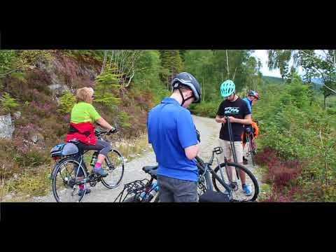 Cycling Holiday In Scotland 2017- Fortwilliam to Inverness