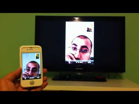 iPhone 4S AirPlay mirroring with Skype call