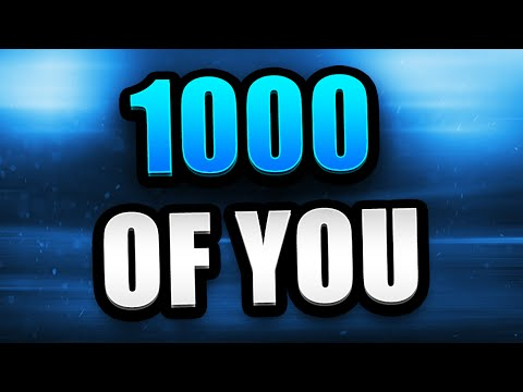 1000 OF YOU :) + DOING A QNA