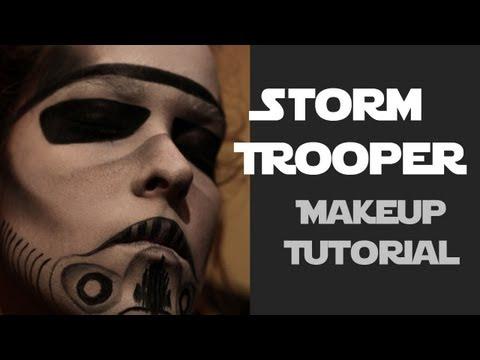 Star Wars Stormtrooper Makeup Tutorial