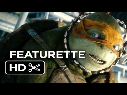 Teenage Mutant Ninja Turtles Featurette - Meet Michaelangelo (2014) - Ninja Turtle Movie HD