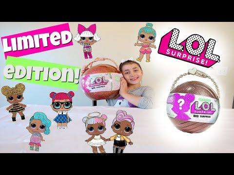 BIGGEST LOL SURPRISE DOLL OPENING EVER! LIMITED EDITION GOLD BALL! 50 PLUS SURPRISES!