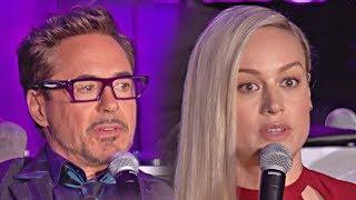 Avengers 4: Endgame - full international press conference (2019)