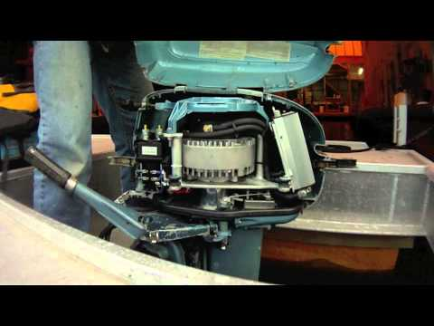 Electric Outboard Part I - Conversion