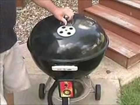 Installing the pitmasterIQ iQue 110 on the Weber Kettle