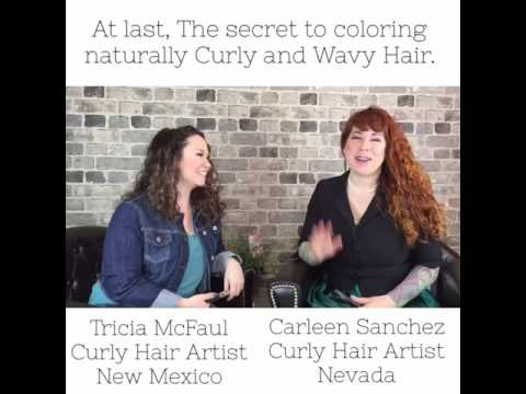 Curly Hair tips: At Last, the secrets to coloring and highlighting naturally Curly and wavy hair.