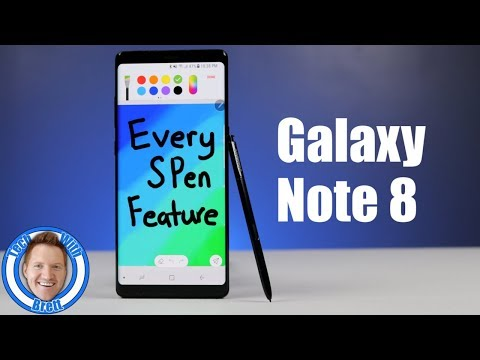 Every Note 8 S Pen Feature