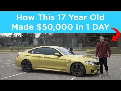 How my 17 Year Old client made $50,000 in 1 Day