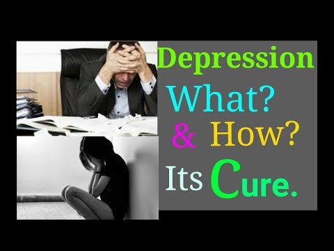 Symptoms and diagnosis of Depression, grief, tension, fear, stress, weak memory, in hindi/English.