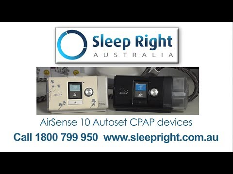 ResMed AirSense 10 CPAP devices