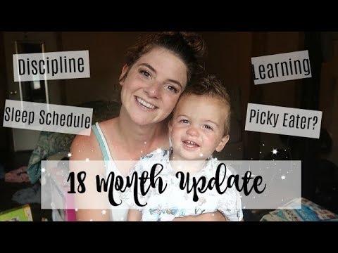 18 MONTH UPDATE | How we discipline & teach!