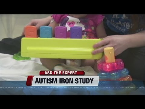 Could low iron levels during pregnancy signal greater risk of autism?