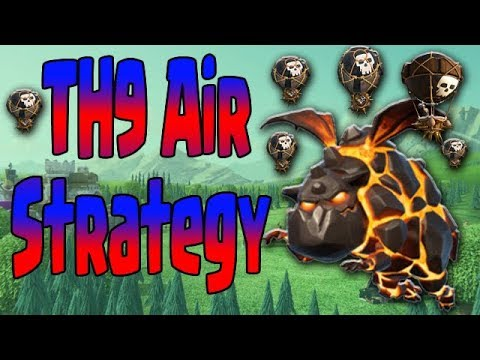 TH9 Loon Attacks |  3 STAR with Different LaLoon Strategy | Clash of Clans