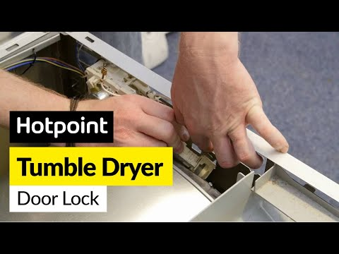 How to Fix a Tumble Dryer Door Lock Switch (Hotpoint, Indesit or Creda)