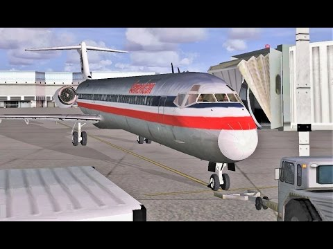 VATSIM: San Diego to Los Angeles (FULL ATC) | American Airlines MD-80 | Part 1