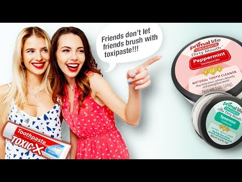 Friends don't let friends brush with toxipaste | Good health begins in your mouth