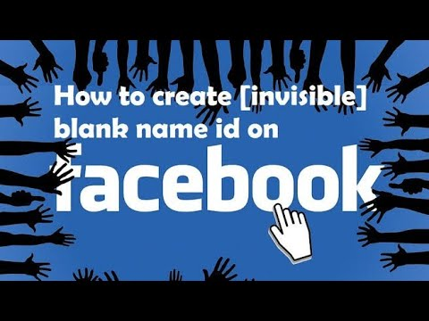 How to make blank (invisible) name id without proxy
