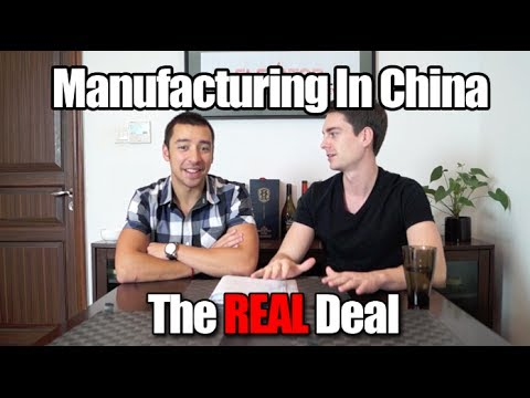 The Real Deal With Manufacturing in China