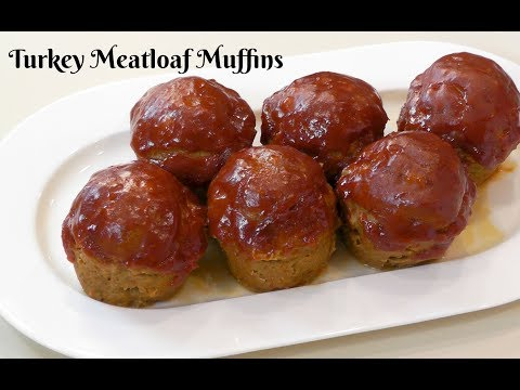 Turkey Meatloaf Muffins ~ How to Make Meatloaf in a Muffin Pan ~ Amy Learns to Cook