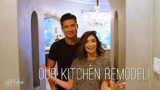 Courtney and Mario Lopez Kitchen Remodel and Tour