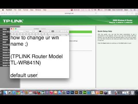 How to change Wifi name (TPLINK Router)