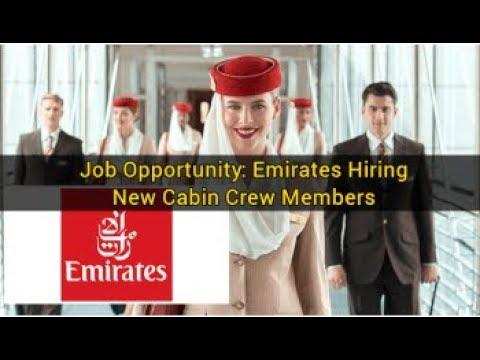 EMIRATES CABIN CREW OPPORTUNITIES | Jobs in Dubai | Urgent Requirement | Dubai Latest Job 2018