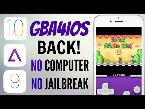 (NEW) GBA4IOS IS BACK ON IOS 10/9.3.5! NO JAILBREAK/NO COMPUTER FREE