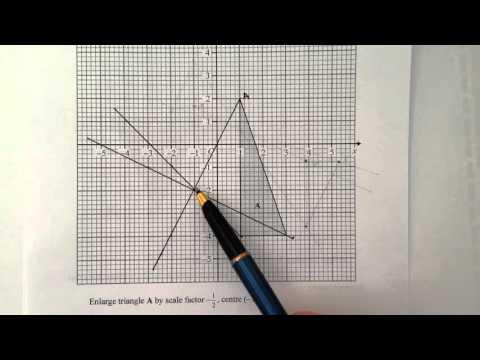 Q3 Enlargement by negative scale factor