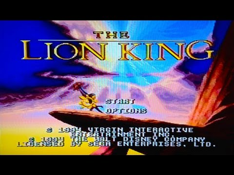 The Lion King (Genesis) Quickrun without dying on