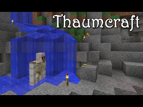 Magic Broom (Thaumcraft & Ars Magica Server) ep 6