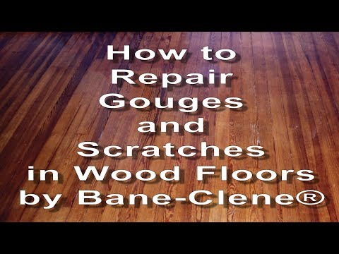 How to Repair Scratches, Gouges and Holes in Wood Floors